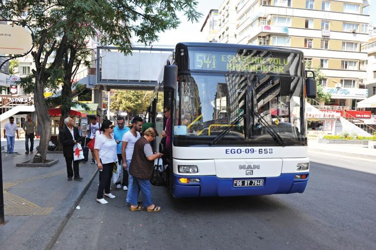 في انقرة - المواصلات مجانية خلال الامتحانات في مدينة أنقرة