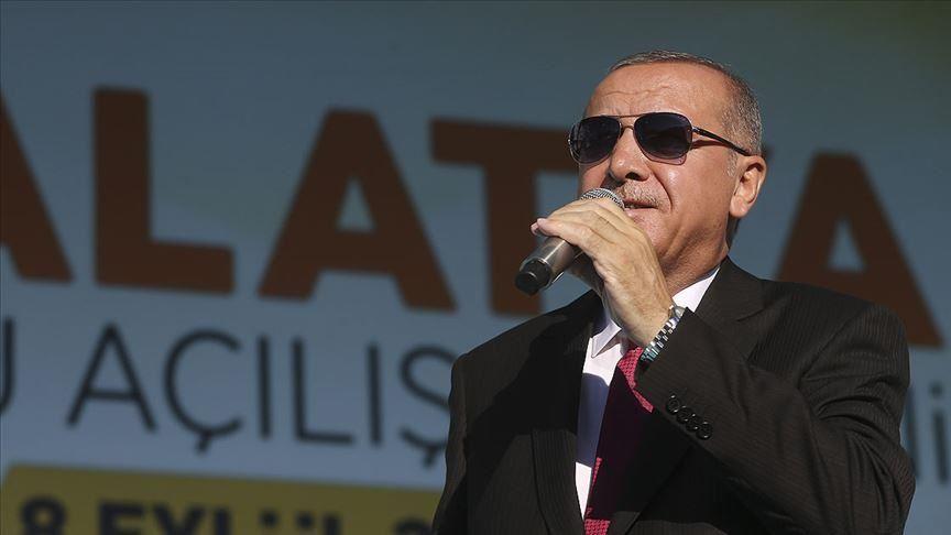 طيب اردوغان - أردوغان: واشنطن تسعى لإنشاء منطقة آمنة للتنظيمات الإرهابية بسوريا