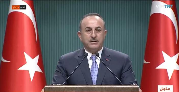 """اوغلو - تصريحات نارية لوزير الخارجية التركي حول وضع """"آية صوفيا"""""""