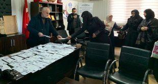 1 10 310x165 - أرامل سوريات في هاتاي يتبرعن بخواتمهن لأهالي إدلب