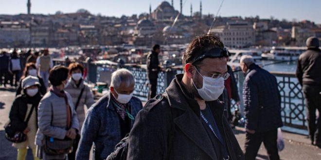 فيروس كورونا 660x330 - ارتفاع ضحايا كورونا في تركيا إلى 168 والاصابات إلى 10827