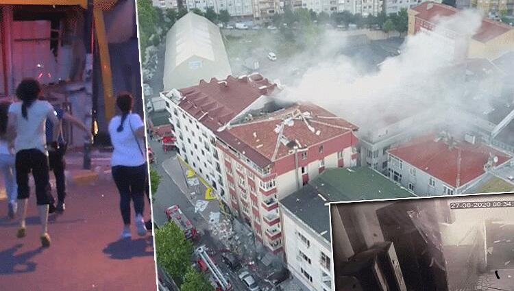 في ورشة النسيج في اسطنبول - بالفيديو والصور : انفجار ورشة في ولاية اسطنبول ..وفاة شخص أجنبي وإصابة 10
