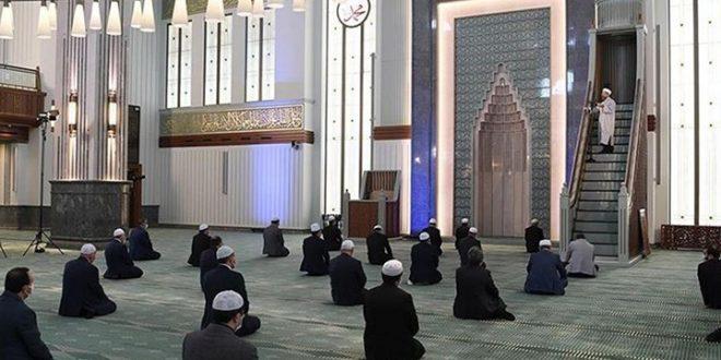 الجمعة في مسجد أيام كورونا 660x330 - خطبة الجمعة باللغة العربية في مساجد تركيا 19 حزيران 2020