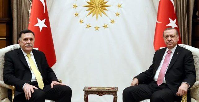 1300983 642x330 - قمة ثنائية بين أردوغان و سراج في انقرة بعد الانتصار الكبير في طرابلس