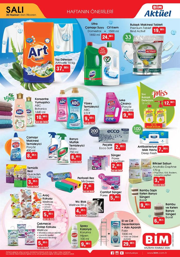 bim 30 haziran 1 1 - عروض على مواد التنظيف في ماركت البيم BIM الثلاثاء 30 حزيران 2020