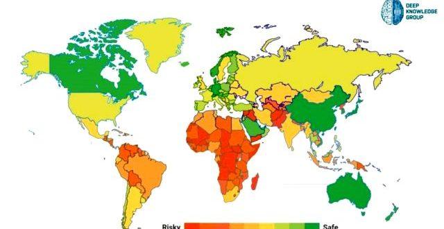 dunya bu koronavirus haritasini konusuyor 13299768 3398 m 640x330 - ماهي اكثر الدول امانا من فيروس كورونا ؟ وما ترتيب تركيا عالميا ؟
