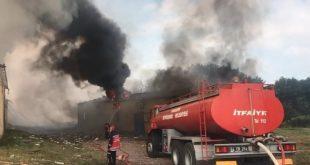 3354294 310x165 - بالفيديو : لحظة انفجار مصنع الالعاب النارية في ولاية سكاريا وتحذيرات للمواطنين