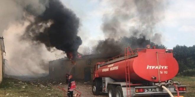 3354294 660x330 - بالفيديو : لحظة انفجار مصنع الالعاب النارية في ولاية سكاريا وتحذيرات للمواطنين