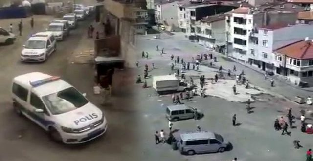 istanbul da meydan muharebesi gibi kavga mahalle 13503763 7041 o 640x330 - كأنها معركة .. شاهد بالفيديو شجار جماعي بين ابناء حي اسنلر بولاية اسطنبول